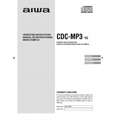 Aiwa CDC-MP3 Stereo Car CD Receiver