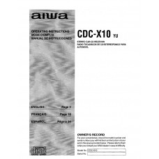 Aiwa CDC-X10 Stereo Car CD Receiver