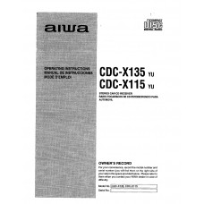 Aiwa CDC-X115 Stereo Car CD Receiver