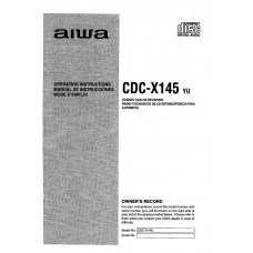 Aiwa CDC-X145 Stereo Car CD Receiver