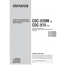 Aiwa CDC-X15 Stereo Car CD Receiver