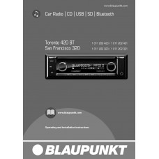Blaupunkt 320 Car Radio / CD / USB / SD / Bluetooth