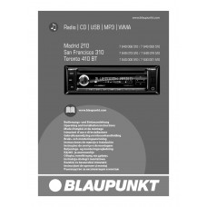 Blaupunkt 410 BT Radio / CD / USB / MP3 / WMA