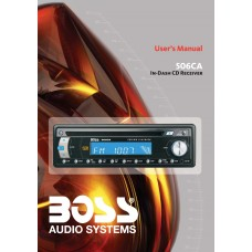 Boss 506CA Car Radio MP3, CD