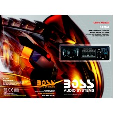 Boss 612UA Single-DIN MECH-LESS Multimedia Player (no CD/DVD)