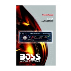 Boss 635CA Car Radio MP3, CD