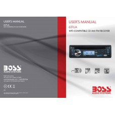 Boss 637UA MP3-Compatible CD AM/FM Receiver