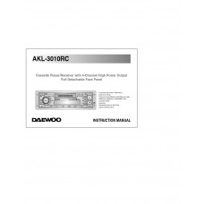 Daewoo AKL-3010RC Car Receiver