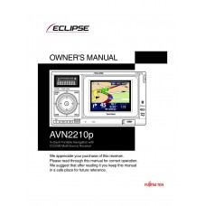 Eclipse AVN2210p In-Dash Portable Navigation with CD/USB Multi-Source Receiver