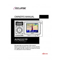 Eclipse AVN2227P In-Car Audio Visual Navigation
