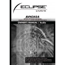 """Eclipse AVN2454   5"""" Wide TFT Touch-Panel Display CD/DVD Multi-Source Receiver with DVD NAVIGATION"""
