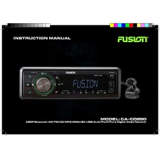 Fusion CA-CD850 CD Stereo Source Unit With Bluetooth