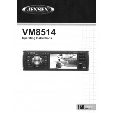 Jensen VM8514R Car Radio CD, MP3, DVD