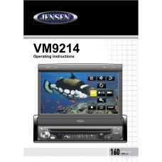 Jensen VM9214R Car Radio CD, MP3, DVD
