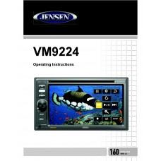 Jensen VM9224R Car Radio CD, MP3, DVD