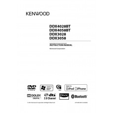 Kenwood DDX-4058BT Car Radio 	DVD, MP3, CD