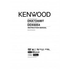 Kenwood DDX-6054 Car Radio DVD, MP3, CD