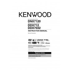 Kenwood DDX-7032 Car Radio DVD, MP3, CD