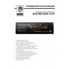 Mystery MAR-707U Car Radio MP3